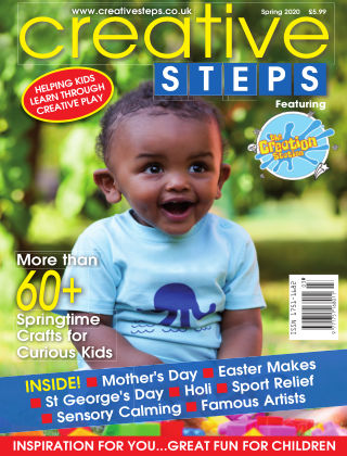 Creative Steps Spring 2020 Issue 65