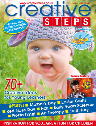 Creative Steps Spring 2021 Issue 69