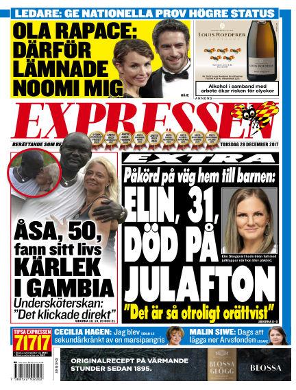 Expressen December 28, 2017 00:00