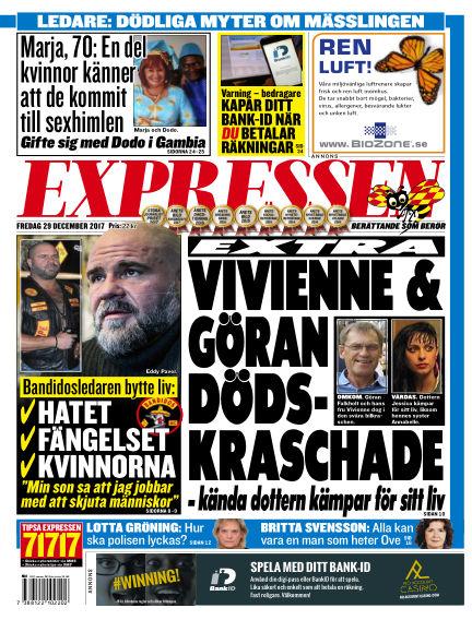 Expressen December 29, 2017 00:00