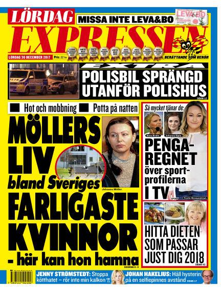 Expressen December 30, 2017 00:00