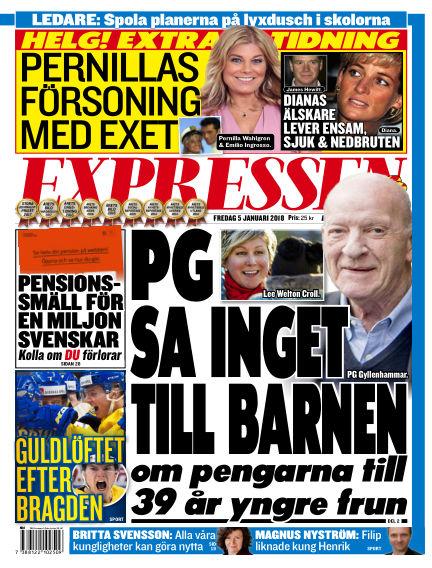 Expressen January 05, 2018 00:00