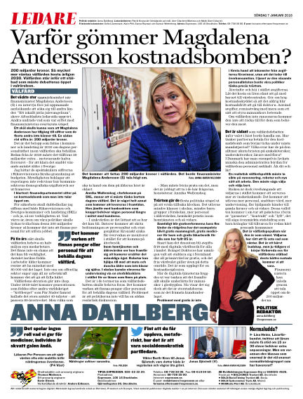 Expressen January 07, 2018 00:00