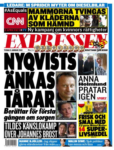 Expressen January 09, 2018 00:00