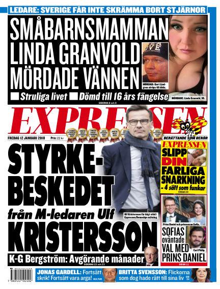 Expressen January 12, 2018 00:00