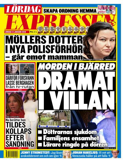 Expressen January 13, 2018 00:00