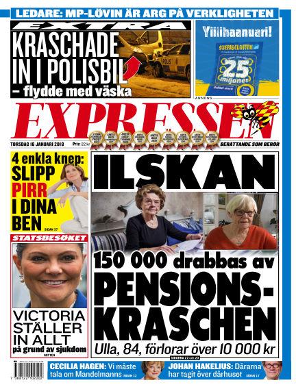 Expressen January 18, 2018 00:00