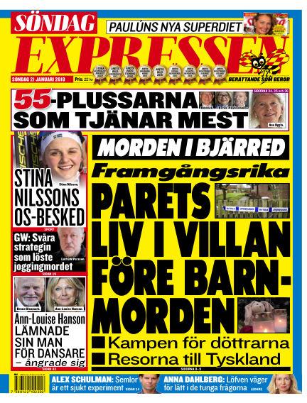 Expressen January 21, 2018 00:00