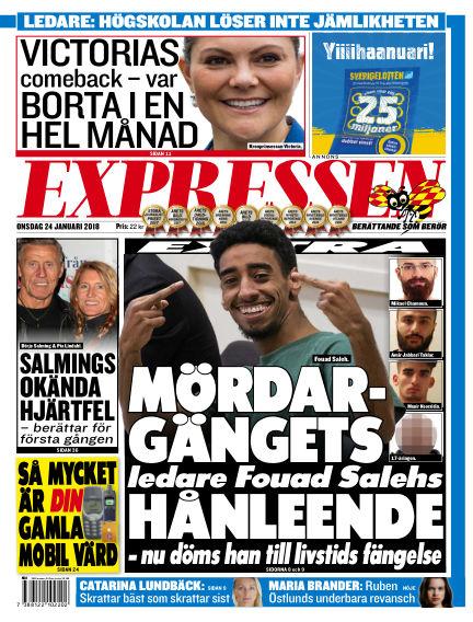 Expressen January 24, 2018 00:00