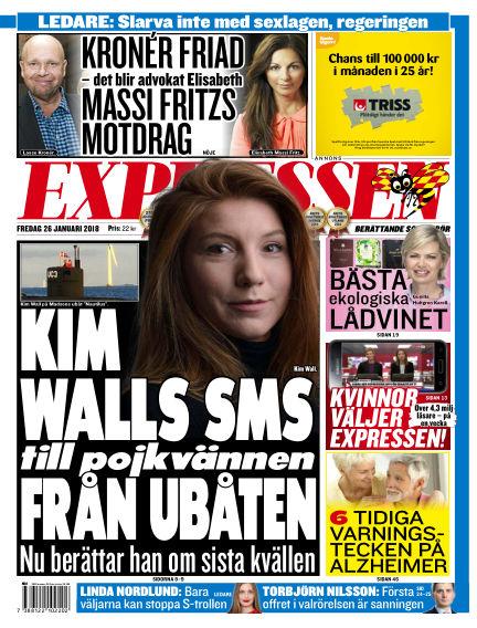 Expressen January 26, 2018 00:00