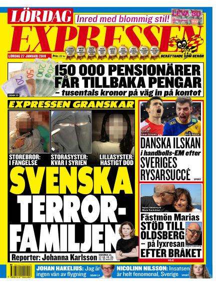 Expressen January 27, 2018 00:00