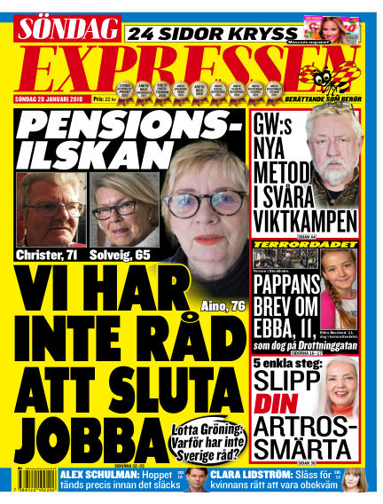 Expressen January 28, 2018 00:00