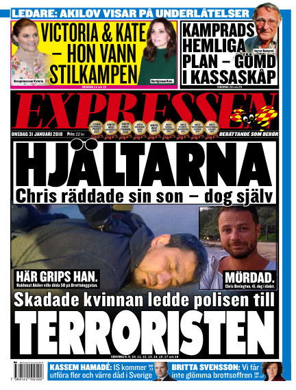 Expressen January 31, 2018 00:00