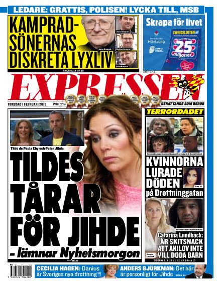 Expressen February 01, 2018 00:00