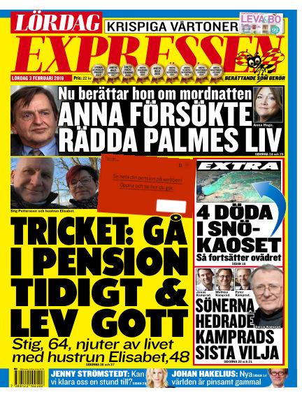 Expressen February 03, 2018 00:00