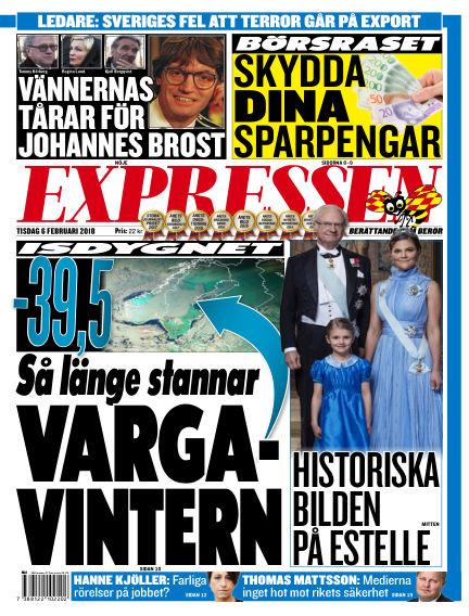 Expressen February 06, 2018 00:00