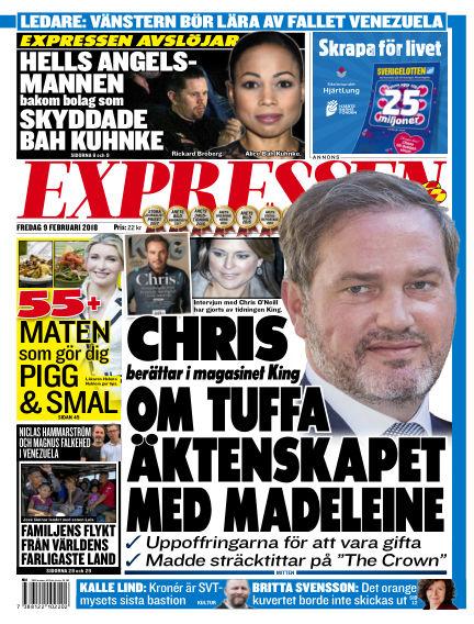 Expressen February 09, 2018 00:00