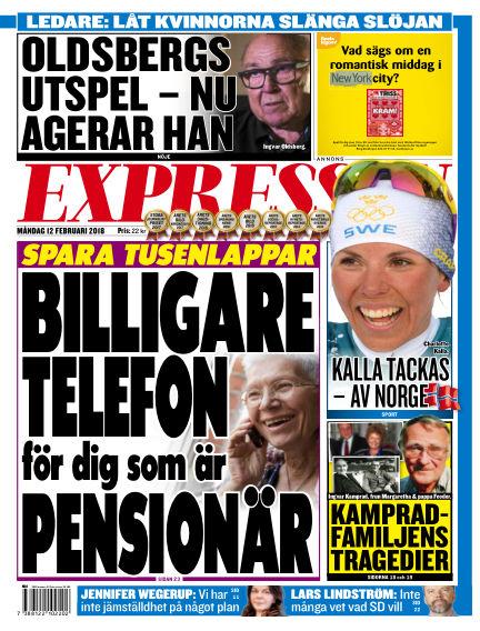 Expressen February 12, 2018 00:00