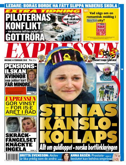 Expressen February 14, 2018 00:00