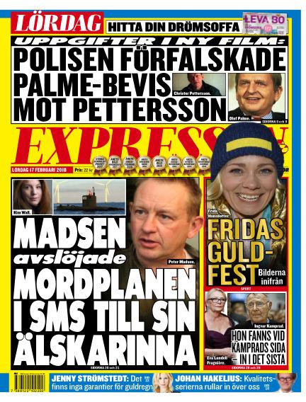 Expressen February 17, 2018 00:00