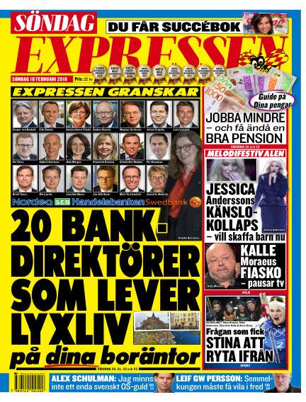 Expressen February 18, 2018 00:00