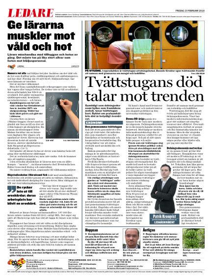 Expressen February 23, 2018 00:00