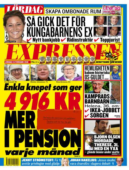 Expressen February 24, 2018 00:00