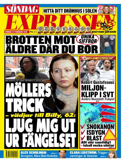 Expressen February 25, 2018 00:00