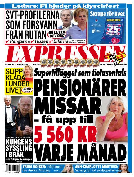 Expressen February 27, 2018 00:00