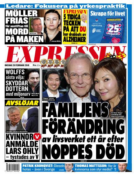 Expressen February 28, 2018 00:00