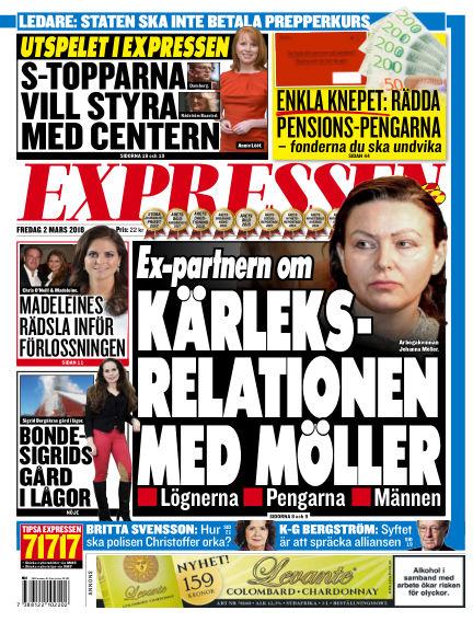 Expressen March 02, 2018 00:00