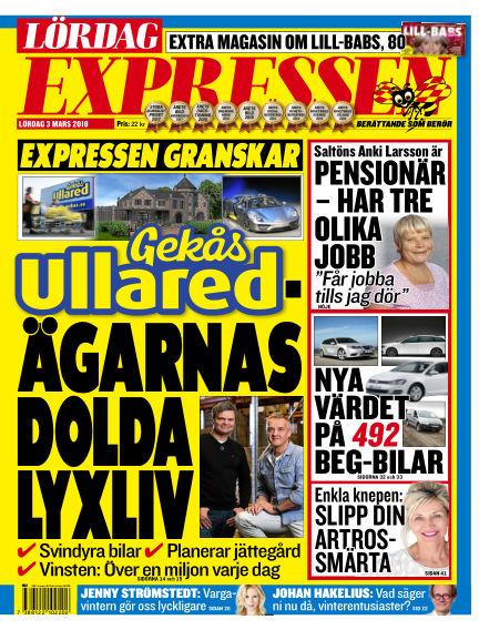 Expressen March 03, 2018 00:00