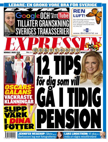 Expressen March 05, 2018 00:00