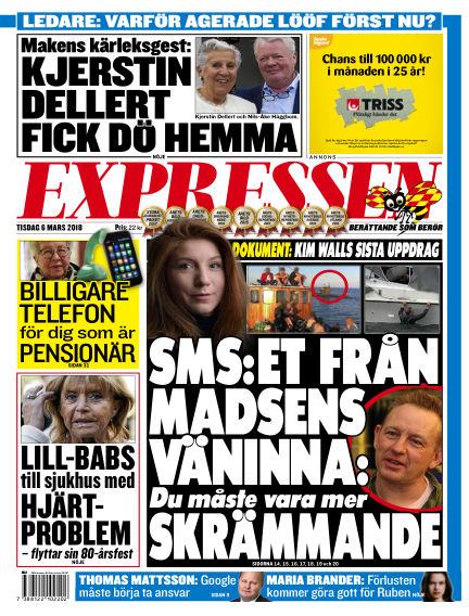 Expressen March 06, 2018 00:00