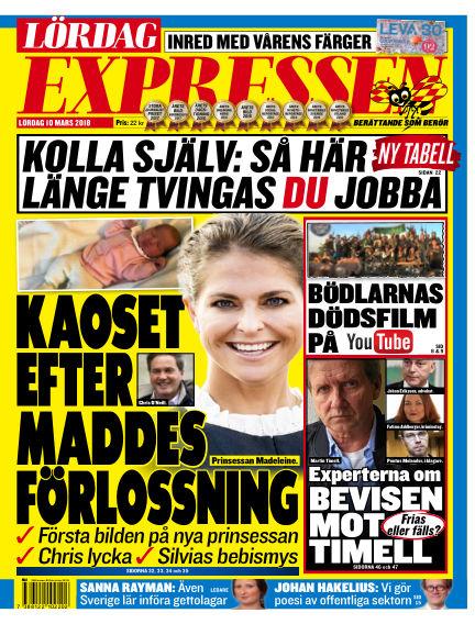 Expressen March 10, 2018 00:00