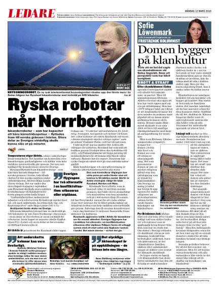 Expressen March 12, 2018 00:00