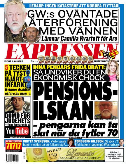 Expressen March 16, 2018 00:00