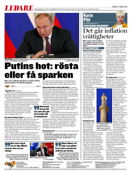 Expressen March 17, 2018 00:00