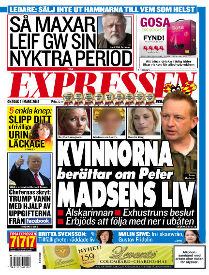 Expressen March 21, 2018 00:00