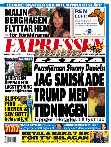 Expressen March 26, 2018 00:00
