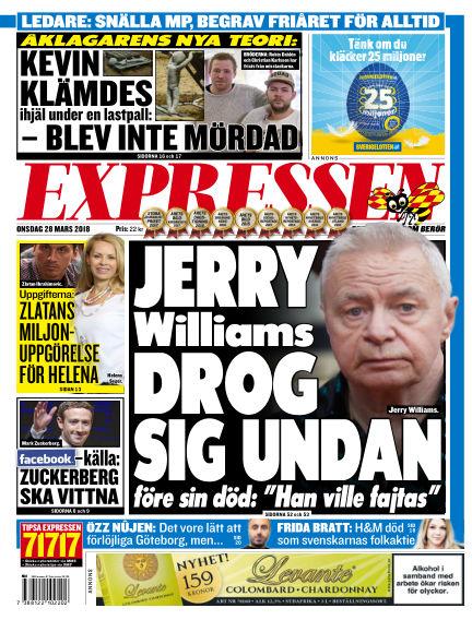 Expressen March 28, 2018 00:00