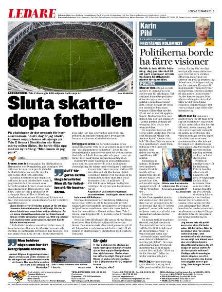 Expressen March 31, 2018 00:00