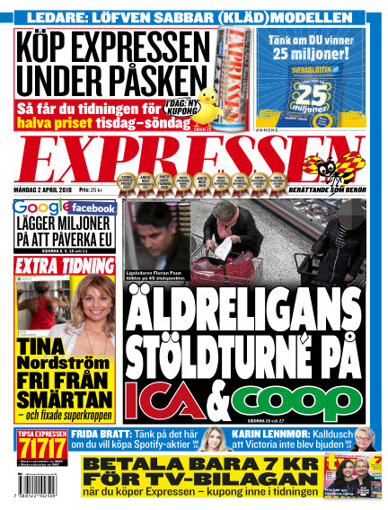 Expressen April 02, 2018 00:00