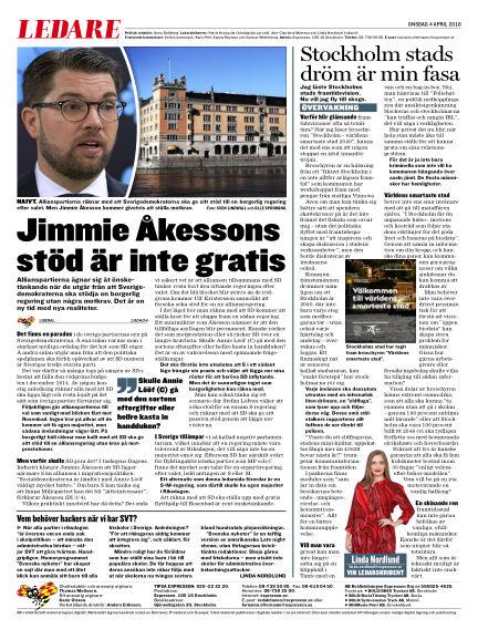 Expressen April 04, 2018 00:00