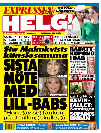 Expressen April 15, 2018 00:00