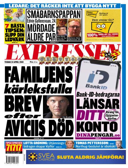 Expressen April 24, 2018 00:00