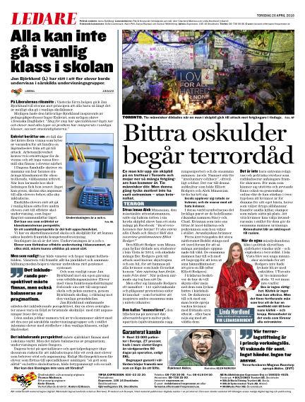 Expressen April 26, 2018 00:00