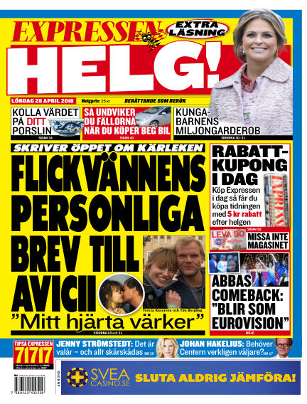 Expressen April 28, 2018 00:00