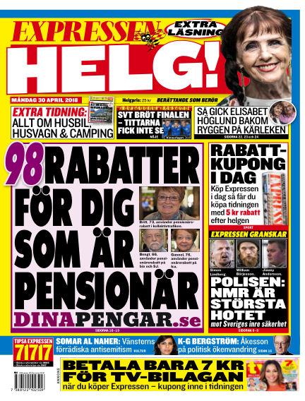 Expressen April 30, 2018 00:00