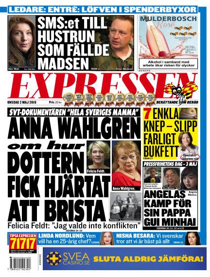 Expressen May 02, 2018 00:00